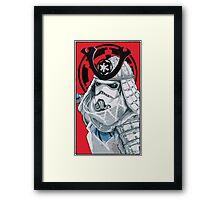 Samurai Trooper Framed Print