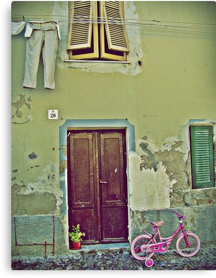 Little Pink Bicycle by Mojca Savicki