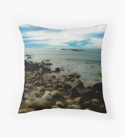 Sennen Cove, Cornwall Throw Pillow