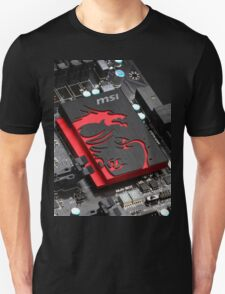msi gaming computer Unisex T-Shirt
