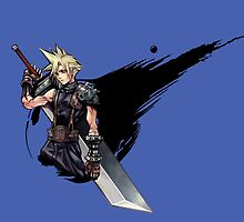 Cloud Strife FF7 by NightwingDing
