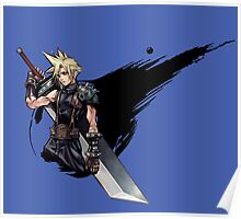 Cloud Strife FF7 Poster