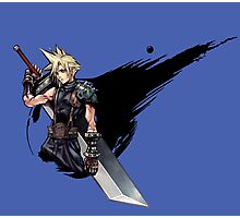 Cloud Strife FF7 Photographic Print