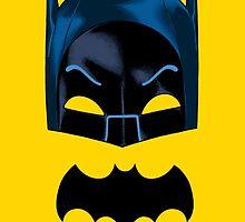 Adam West Batman: Mask and Bat Symbol by DIE-TOXIC-BOY