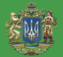 Ukraine: Proposed Greater Coat of Arms & Flag Kids Clothes