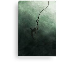 Caught Canvas Print
