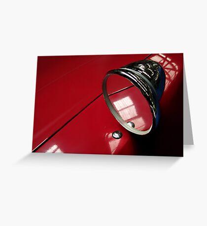 Car mirror* Greeting Card