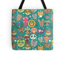 funny animals muzzle Tote Bag