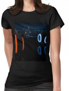 Xbox One Tron  Womens Fitted T-Shirt