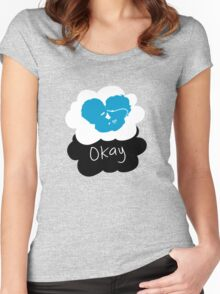 TFIOS: okay Women's Fitted Scoop T-Shirt