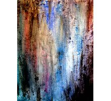 Grunge Watercolor Photographic Print