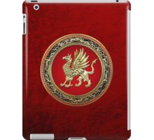 Sacred Gold Griffin  iPad Case/Skin