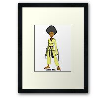 Gaming Ninja Framed Print