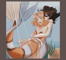 Lovely Mermaids One Piece - Short Sleeve