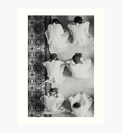 Monks 2 Art Print