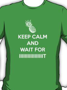 Keep Calm and Wait for IIIIIIIIIT T-Shirt