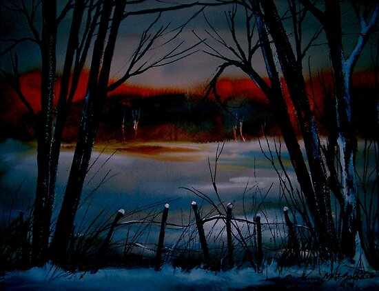 Night and Silence.. by ©Janis Zroback