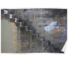 Concrete Stair Poster