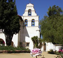 Mission San Juan Bautista - Bell Tower by Cupertino