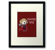 Hammer Time! Framed Print
