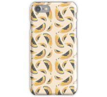 Papaya Illustration Pattern iPhone Case/Skin
