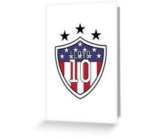Carli Lloyd #10 | USWNT Greeting Card