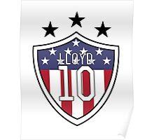 Carli Lloyd #10 | USWNT Poster
