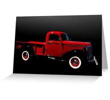 1940 Chevrolet Pickup Truck Greeting Card
