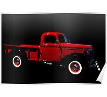 1940 Chevrolet Pickup Truck Poster
