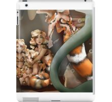 Momma Protects Her Babies iPad Case/Skin