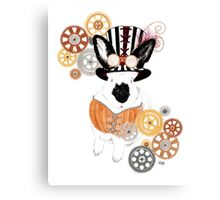 Steampunk'd Bailey Canvas Print