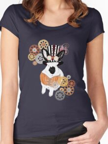 Steampunk'd Bailey Women's Fitted Scoop T-Shirt