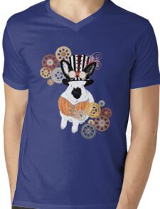 Steampunk'd Bailey Mens V-Neck T-Shirt
