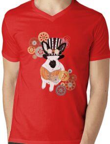 Steampunk'd Bailey Mens V-Neck T-Shirt