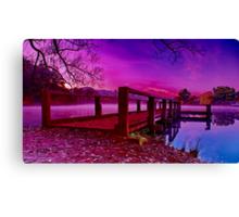 """""""Dayspring At The Lake"""" Canvas Print"""