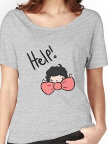 My bow tie's too big! Women's Relaxed Fit T-Shirt
