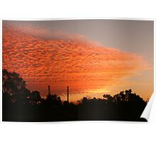 Chillagoe Sunset Poster