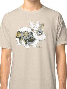 Daily Doodle 33 - Robot - Steampunk Bunny -Elvis Classic T-Shirt