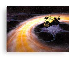 Space Truckin Canvas Print