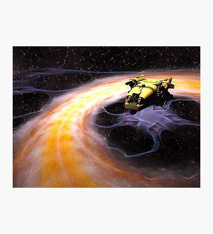 Space Truckin Photographic Print