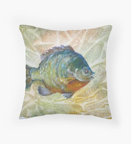 Bluegill Throw Pillow