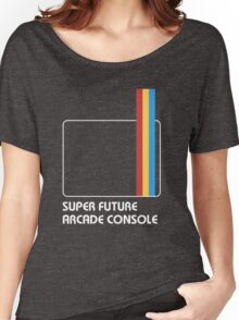 SUPER FUTURE ARCADE CONSOLE Women's Relaxed Fit T-Shirt