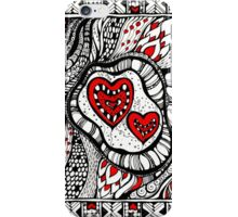 Red Hearts iPhone Case/Skin