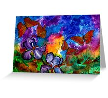 Monarchs at Sunset Greeting Card