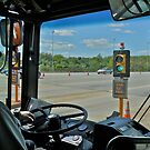 RIPTA Bus Rolls Through the Toll Booth *featured by Jack McCabe