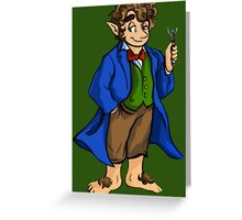I Am A Baggins of Gallifrey! Greeting Card
