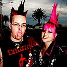 Punk a Photographic Journey - Spikes by Melynda