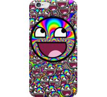 AWESOME MEME FACE - Cool  EFFECT iPhone Case/Skin