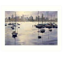 Williamstown Sunrise, Melbourne Art Print