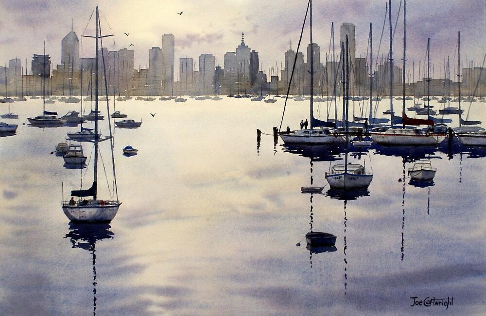 Williamstown Sunrise, Melbourne by Joe Cartwright